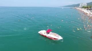 Сочи Лазаревское пляжи занявшие 1 место по количеству отдыхающих в России 4К(полный экран)(, 2016-08-07T21:20:42.000Z)