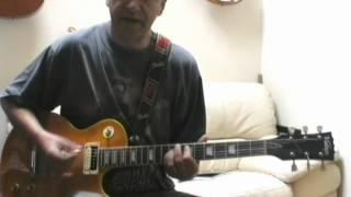 Green Manalishi guitar tutorial part one
