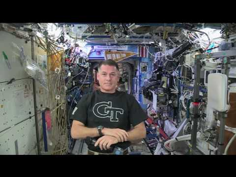 GT Alumnus and Space Station Commander Shane Kimbrough
