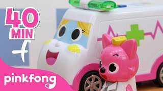 Ambulance Rescue Special | Car Videos | +Compilation | Pinkfong Songs & Stories for Children