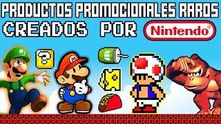 Top 6: Los Productos Promocionales más Extraños de Nintendo