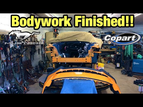 Rebuilding My Totaled Wrecked 2018 Ford Mustang GT Part 11 From Copart Salvage Auction