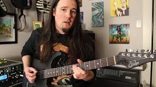 That Damage Inc (Metallica) bridge riff you could never figure out! Weekend Wankshop 175