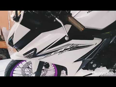 Modification Cbr 150r Pake Jari Jari Youtube
