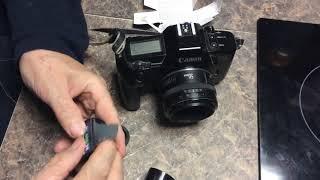 The Canon EOS 650 Film Camera