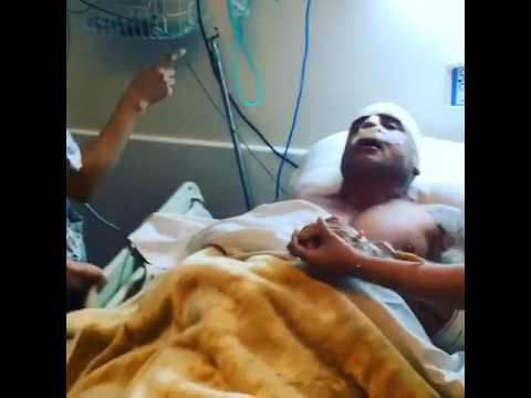 Video US actor Dominic Purcell shows a Moroccan hospital after undergoing surgery