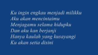 Romance-Ku ingin kamu with lirics