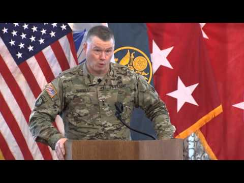 ARCIC Distinguished Speaker Series Major General Waddell April 8, 2016