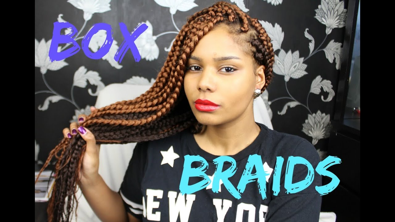 Box Braids Tutorial Hair Chat Poetic Justice Youtube