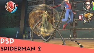 PSP Longplay #7: Spiderman 2(Spider-Man 2 is the name of various action games based loosely on the Spider-Man 2 film. They are follow-ups of the game Spider-Man: The Movie, and the ..., 2015-06-26T23:50:23.000Z)