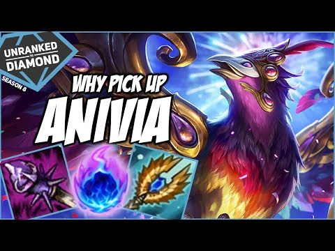 WHY PICK ANIVIA? ESPECIALLY VS SION - Unranked to Diamond - Ep. 88 | League of Legends