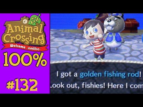 Animal Crossing: New Leaf 100% - #132: Golden Rod!