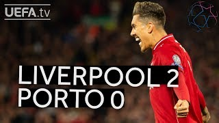 LIVERPOOL 2-0 PORTO #UCL HIGHLIGHTS