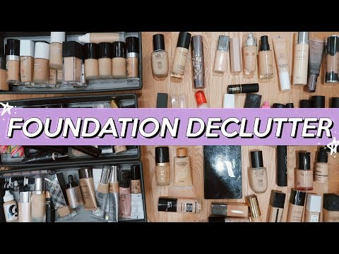 FOUNDATIONS I'M THROWING OUT! (& What I'm Keeping!) | Jamie Paige