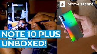 New Samsung Galaxy Note 10 Plus | Unboxing And First Impressions