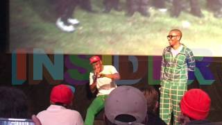 Q & A with Tyler, the Creator and Mikey Alfred from the Cherry Bomb Documentary Premiere