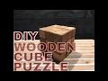 Wooden Cube Puzzle diy