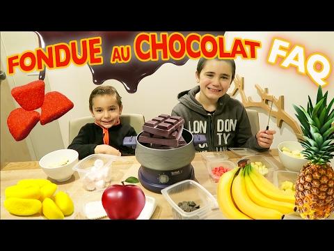 ON FAIT UNE FONDUE AU CHOCOLAT - GOÛTER SURPRISE & FAQ