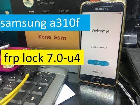 samsung a310f frp lock 7 0-u4- 2018 bypass google account Frp Bypass 1000%