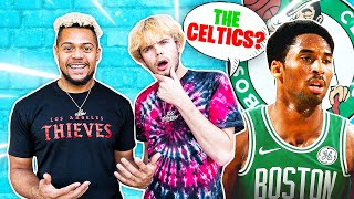 Guess That NBA Players DRAFT Team w/ 2HYPE !!