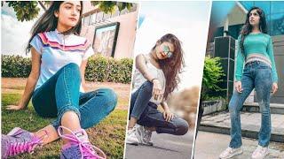 Jeans Girl Pose for Photoshoot 😍 | New Stylish Girl Photoshoot Pose | Part -2 | Photographers Mind screenshot 5