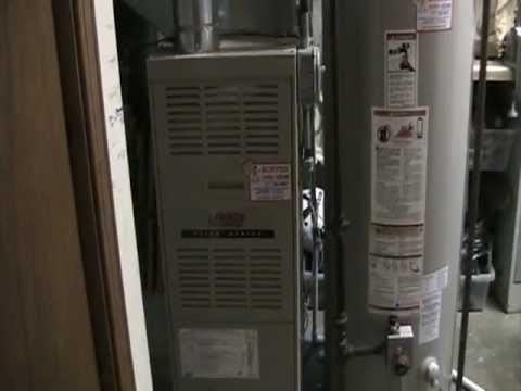 lennox natural gas furnace. lennox g60 gas furnace starting up natural
