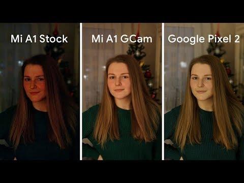 Google Камера Xiaomi Mi A1 Vs Google Pixel 2 Vs Камера Xiaomi