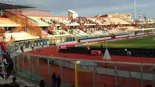 CATANIA - Reggina 3-1 finale partita CURVA NORD