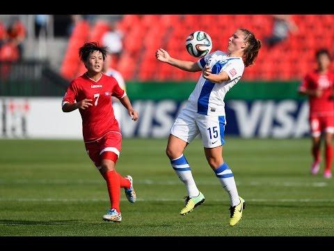 Finland v. Korea DPR, Canada 2014 HIGHLIGHTS