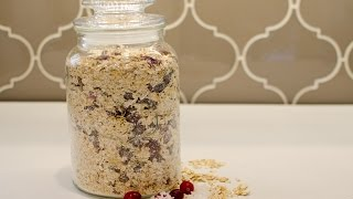 Make Cranberry Coconut Instant Oatmeal - Diy Food & Drinks - Guidecentral