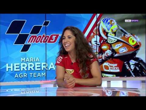María Herrera en Bein Sports con Elba Navarro