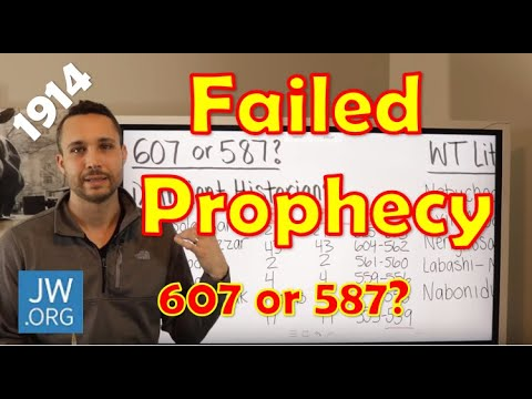 Why I Left The Jehovah's Witnesses After 32 Years - 607/1914 Failed Prophecy