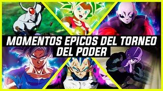 TOP 7 MOMENTOS ÉPICOS DEL TORNEO DEL PODER - DRAGON BALL SUPER/(LOQUENDO)