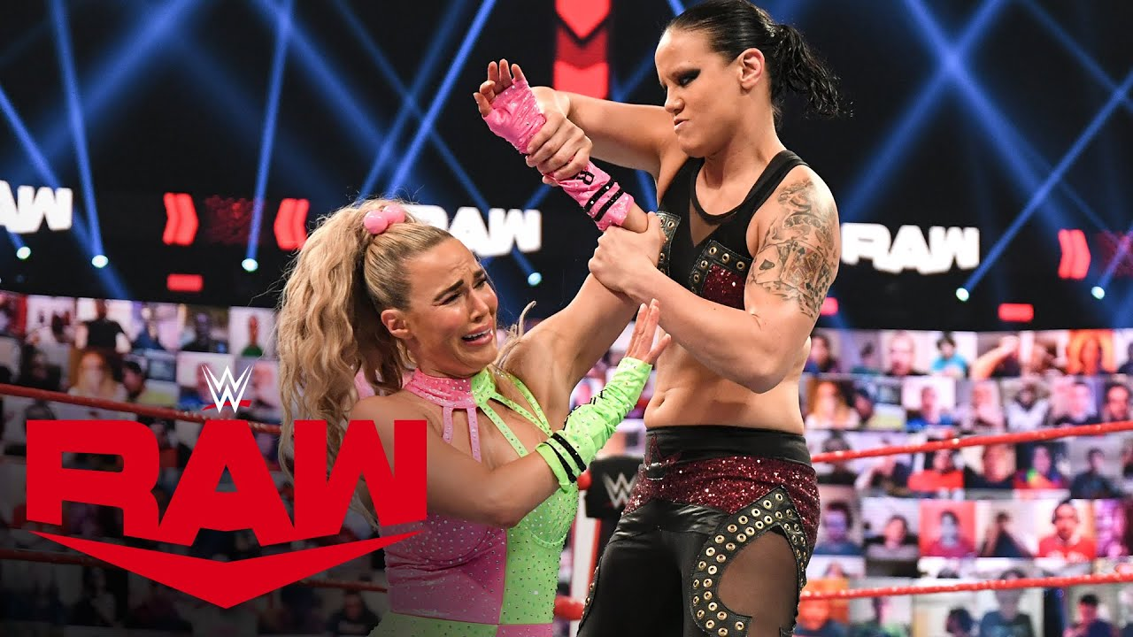 Naomi & Lana vs. Nia Jax & Shayna Baszler: Raw, April 19, 2021