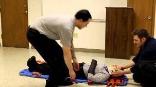 paramedic and emt skills backboarding