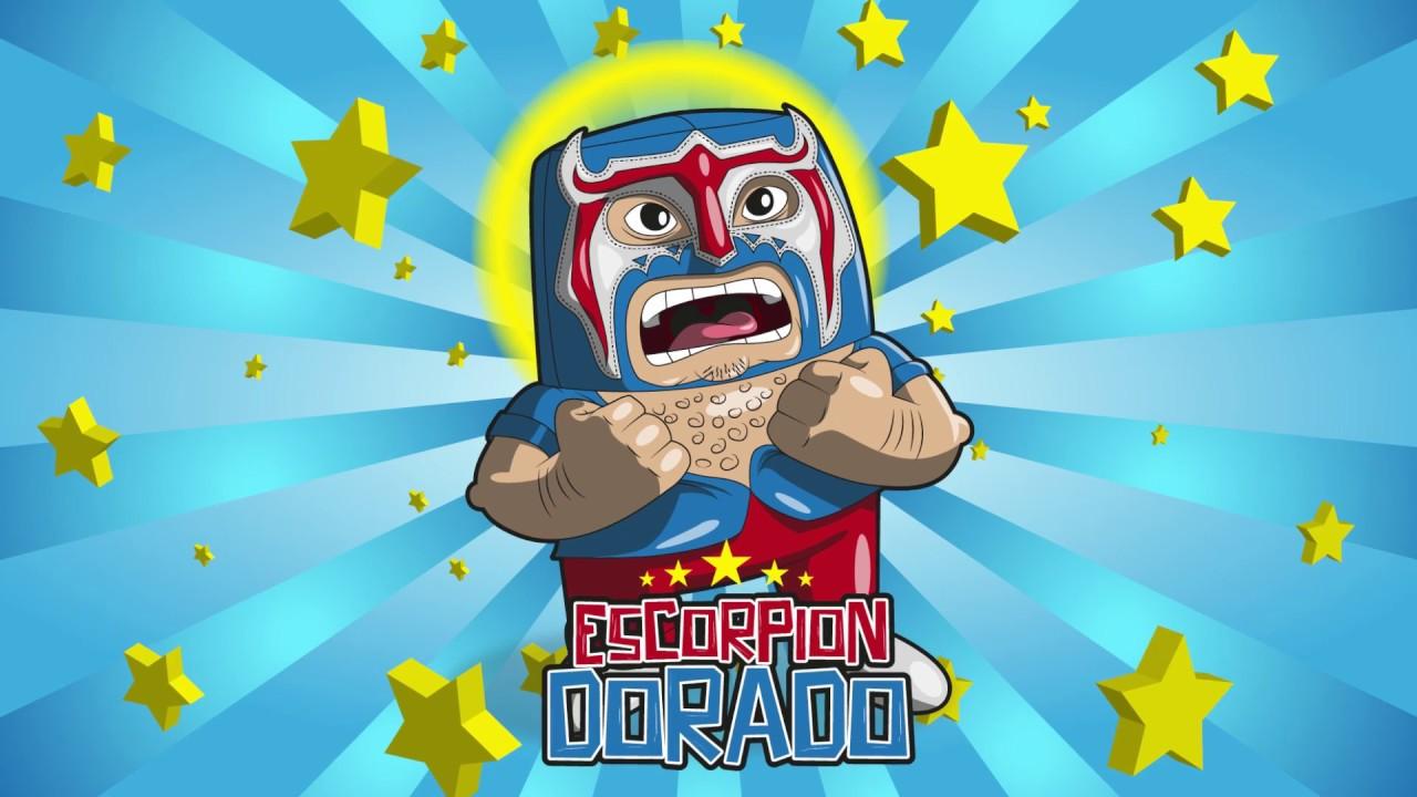 Dibujo De Un Escorpion Dorado dibujando un personaje: escorpion dorado - youtube