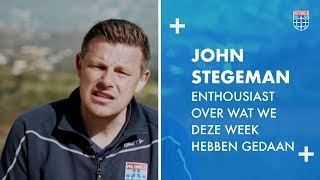John Stegeman: 'Enthousiast over wat we deze week hebben gedaan.'