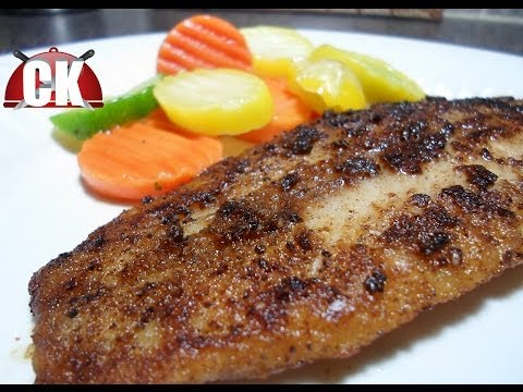 How To Make Blackened Fish - Easy Cooking!