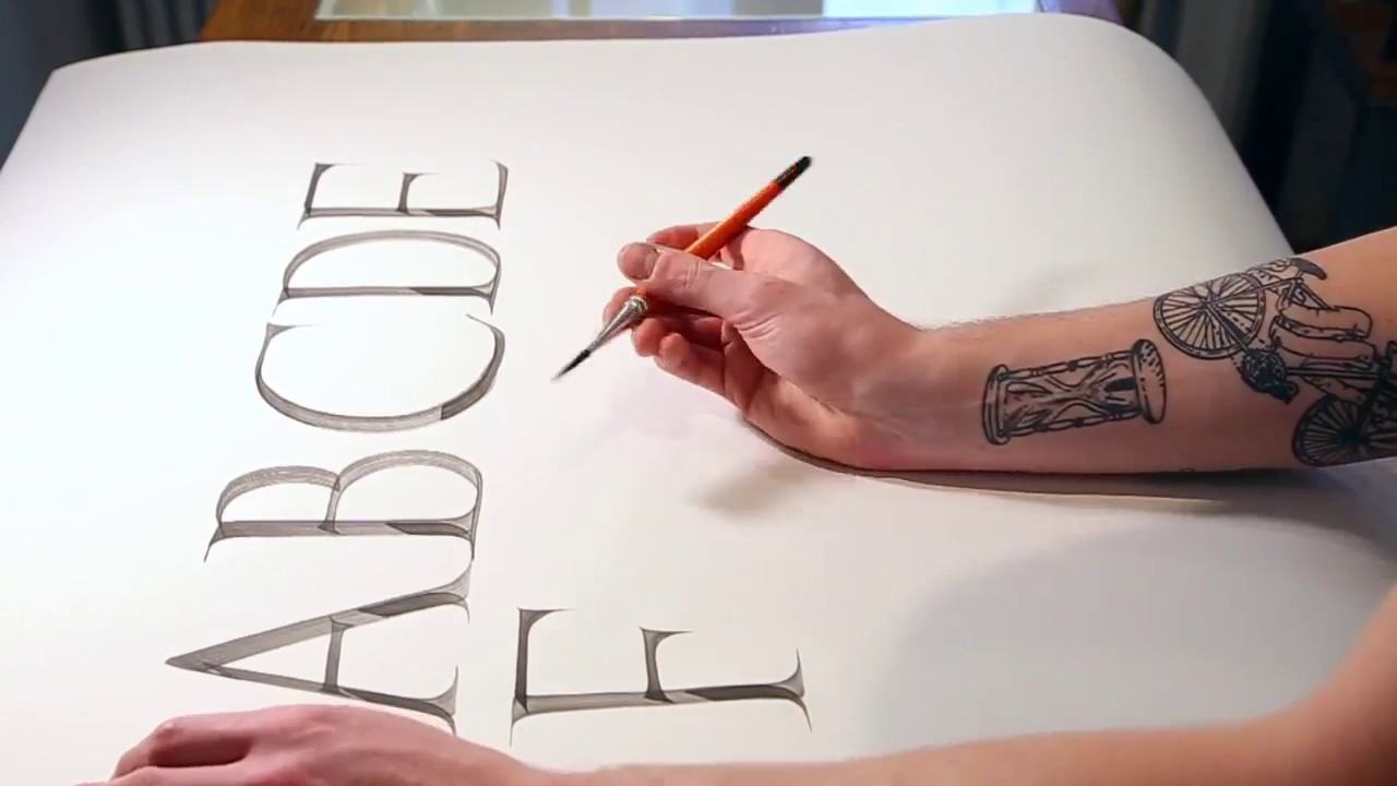 Life unscripted tips for lettering with a brush pen
