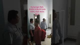 Kunjungan IRJEN pada Pelaksanaan CPNS