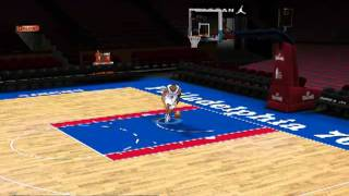 Andre Iguodala - Slam DUNKS Practice FreeStyle NBA 2k11 PC GamePlay