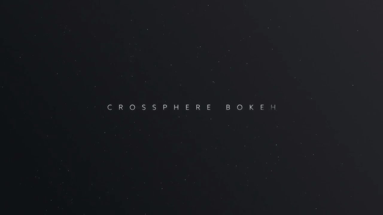 Crossphere Bokeh