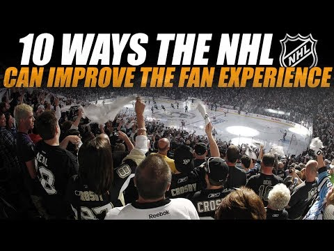 10 Ways the NHL Can Improve the Fan Experience