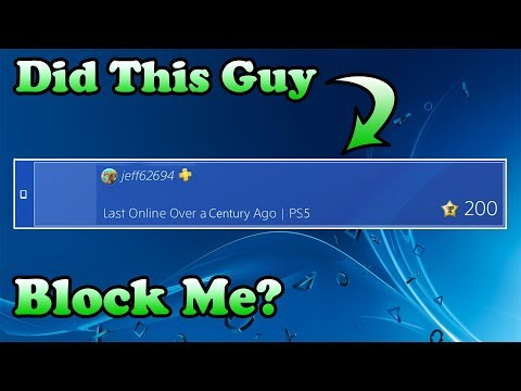 How To See If Someone Has Blocked You On PSN