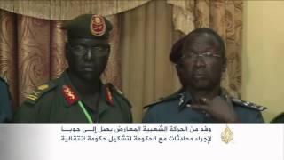 وفد لمتمردي جنوب السودان يصل إلى جوبا