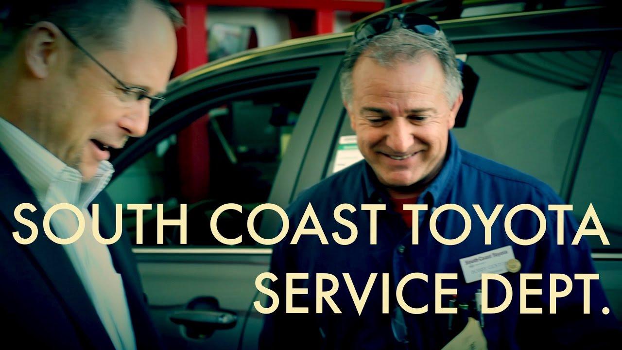 South Coast Toyota Service Department | South Coast Toyota