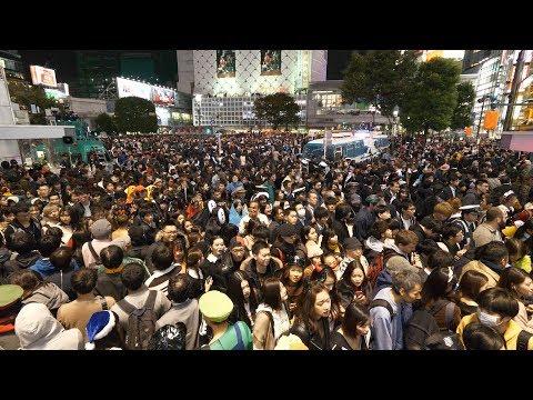 【4K】Shibuya Halloween