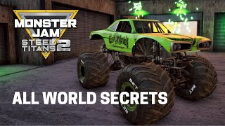 Monster Jam Steel Titans 2: All Trucks World Secrets!