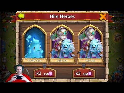 Rolling 60000 Gems For Anubis + Ronin Great Account Quick Rolls Castle Clash