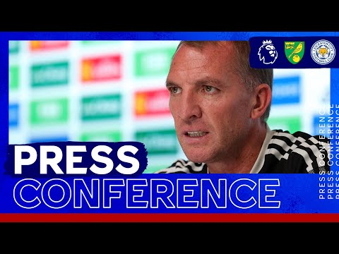 'The spirit will always be there' - Brendan Rodgers |  Norwich City vs. Leicester City